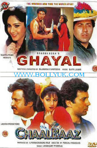 Ghayal – [1990] – Untouched 720p WEBHD AVC AAC 2CH 2.08 GB