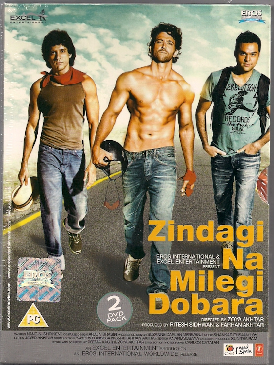 Zindagi Na Milegi Dobara 2011 Hindi 720p 1.5GB Blu-Ray AAC 5.1 ESub MKV